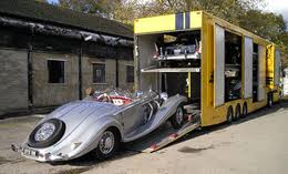 shipping classic cars