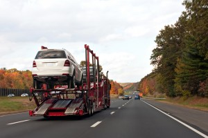 Cars Being Shipped