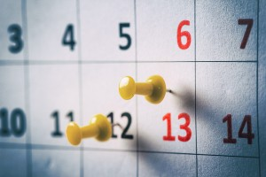Car Shipping Pickup Window Calendar